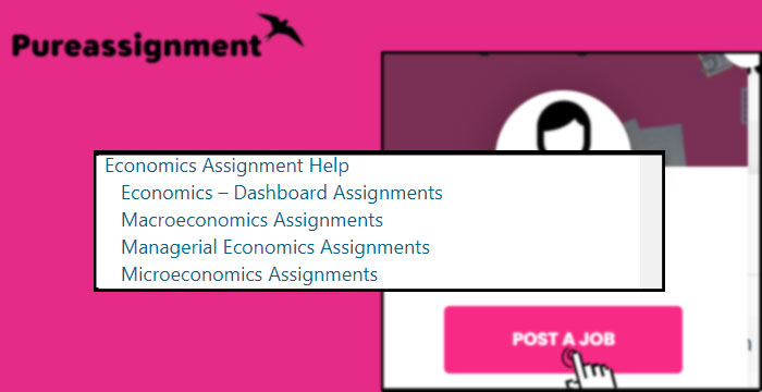 economics assignment help categories