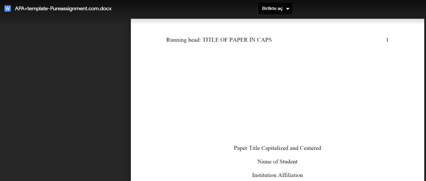 apa template free download link
